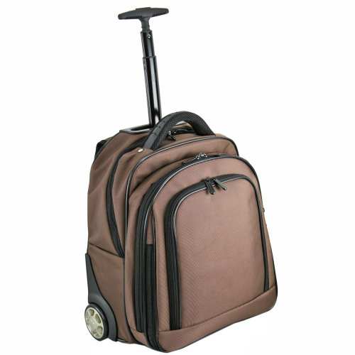 Dermata Rucksack-Trolley 38 cm Laptopfach