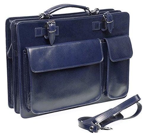 Bags4Less Unisex-Erwachsene Mondial Laptop Tasche Blau (Blau)