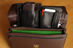 TimeTEX Lehrertasche Maxima Classic Nova mit Kleinteile-Einsatz XL